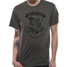 Load image into Gallery viewer, Mens Harry Potter T-Shirt Distressed Hogwarts-The Curious Emporium