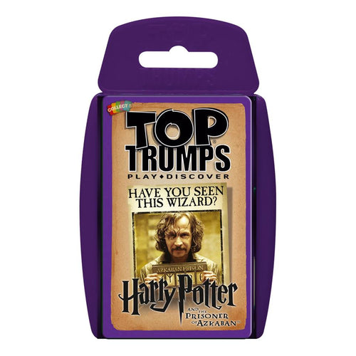 Top Trumps Harry Potter and the Prisoner of Azkaban-The Curious Emporium