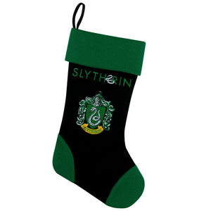 Christmas Stocking Slytherin 45 cm-The Curious Emporium