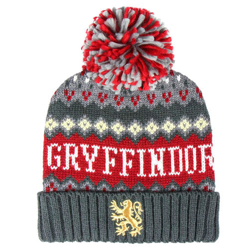 Gryffindor Premium Bobble Hat-The Curious Emporium