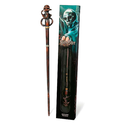 Death Eater Swirl Wand in Window Box-The Curious Emporium