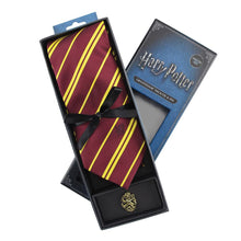 Load image into Gallery viewer, Adult Tie & Metal Pin Deluxe Box Gryffindor-The Curious Emporium