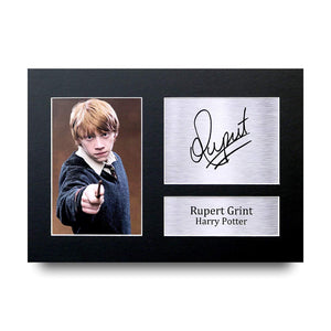 Rupert Grint Gift Signed A4 Printed Autograph Photo Picture Display-The Curious Emporium