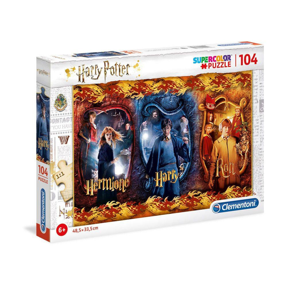 Super Colour Puzzle Harry, Ron & Hermione-The Curious Emporium