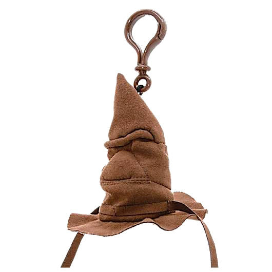 Sorting Hat Plush Key Chain with Sound-The Curious Emporium