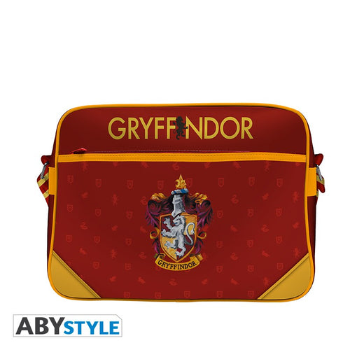 Gryffindor Messenger Bag Full Print-The Curious Emporium