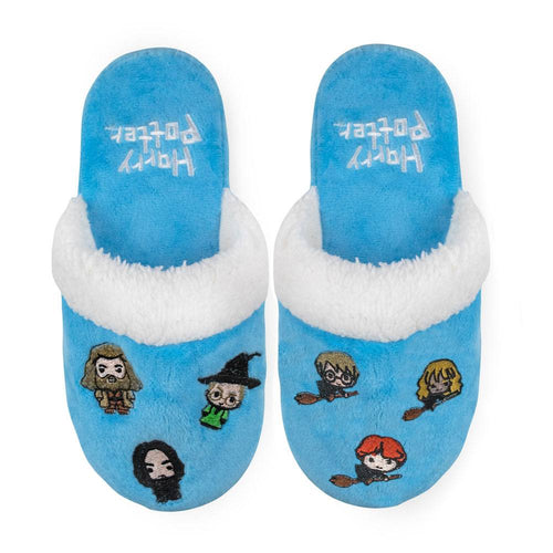Harry Potter Kids Slippers Hogwarts Kawaii-The Curious Emporium