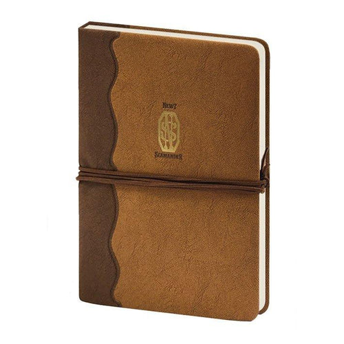 Fantastic Beasts Premium Notebook A5 Newt Scamander Logo-The Curious Emporium