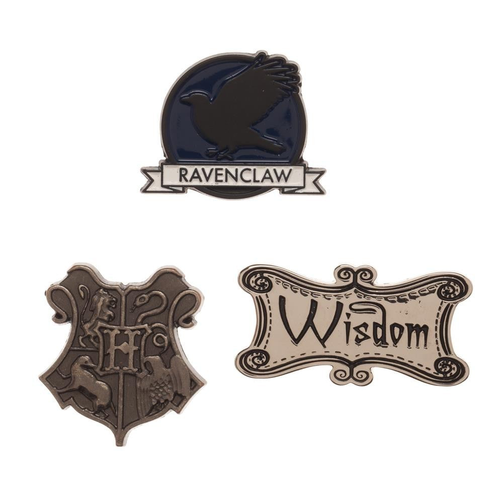 Ravenclaw Lapel Pin Set 3-Pack-The Curious Emporium