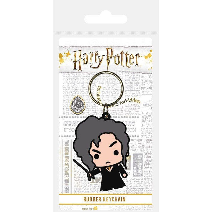 Rubber Keychain Chibi Bellatrix 6cm-The Curious Emporium