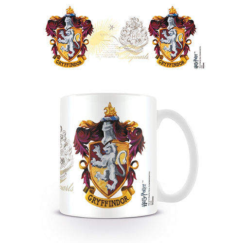 Boxed Mug Gryffindor Crest-The Curious Emporium