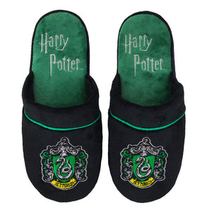 Harry Potter Slippers Slytherin-The Curious Emporium