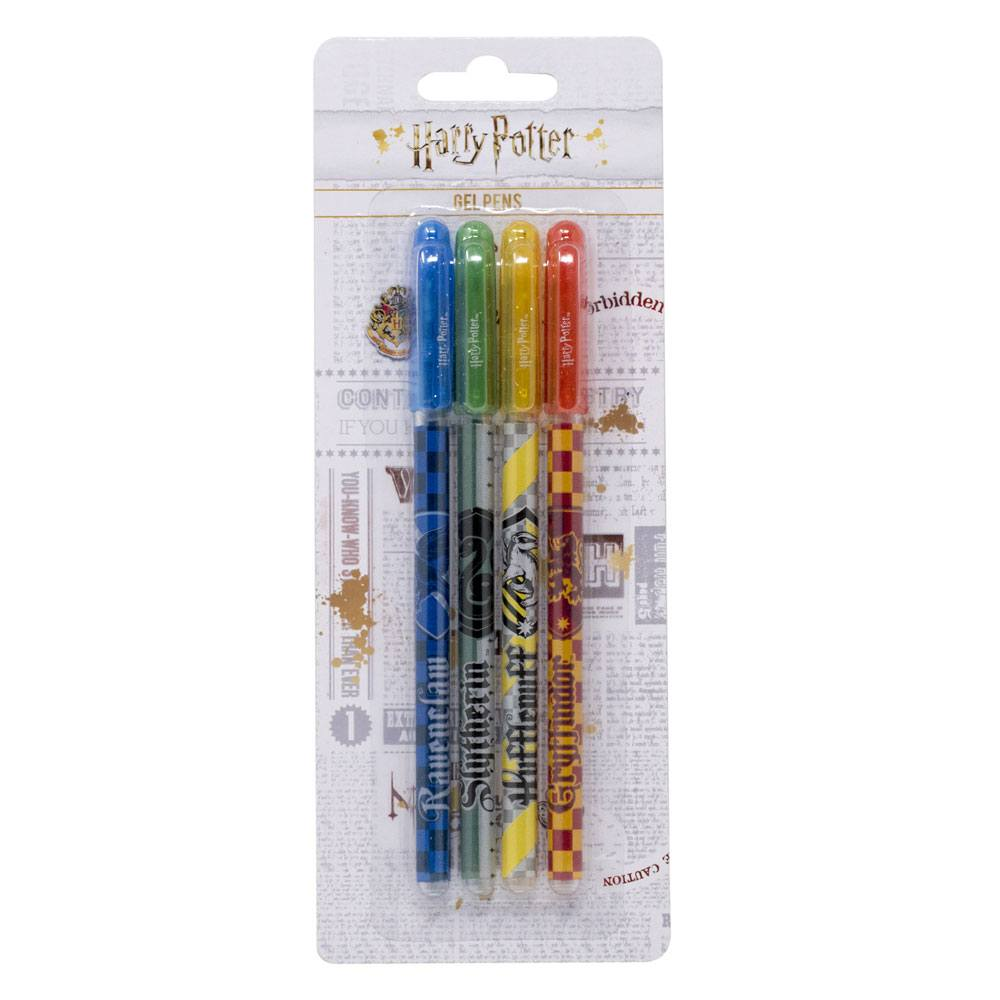 Hogwarts Houses Gel Pens 4-Pack-The Curious Emporium