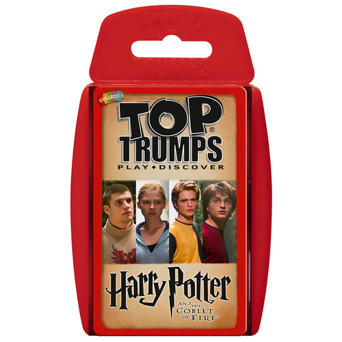 Top Trumps Harry Potter and the Goblet of Fire-The Curious Emporium