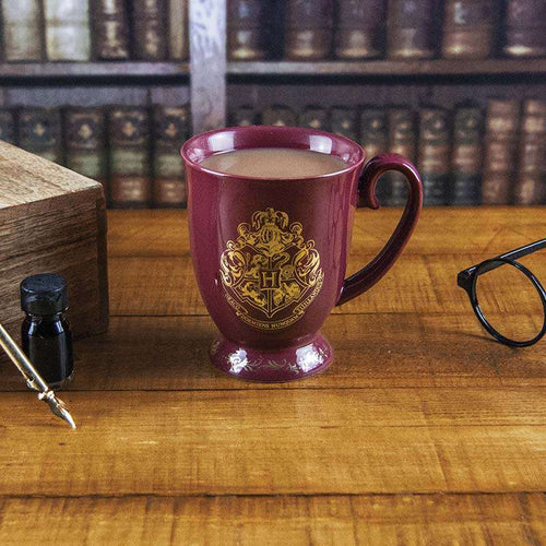 Harry Potter Boxed Mug Hogwarts Crest-The Curious Emporium