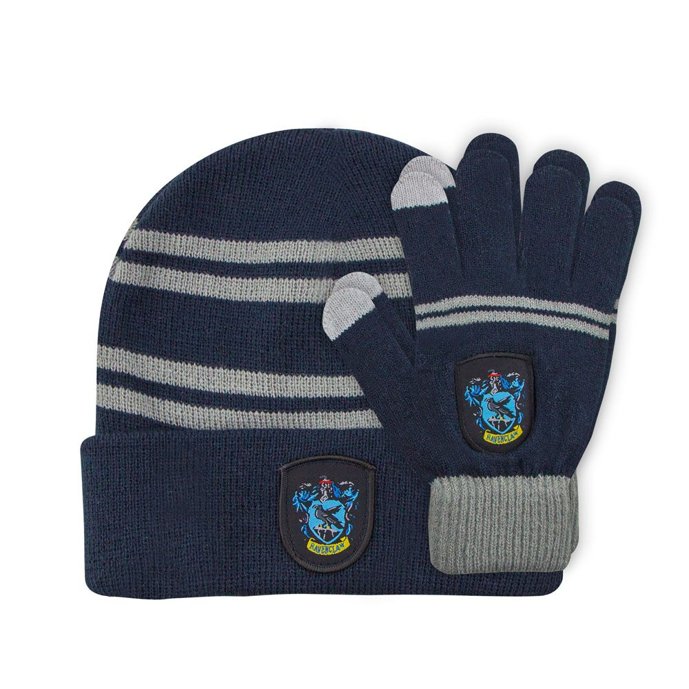 Beanie & Gloves Set for Kids Ravenclaw-The Curious Emporium