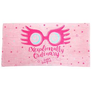 Luna Lovegood Exceptionally Ordinary Beach Towel-The Curious Emporium