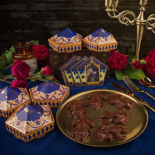 Chocolate Frog Mould with 6 DIY Boxes & Wizard Cards-The Curious Emporium