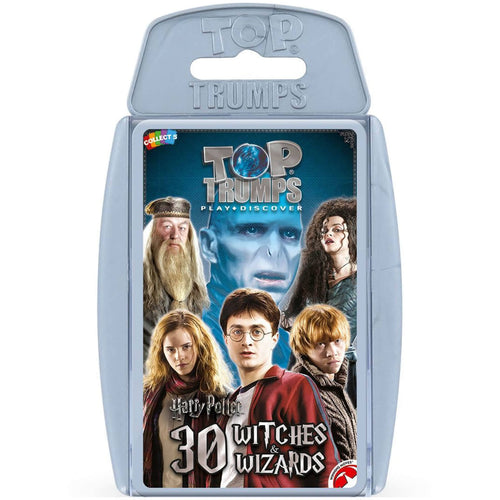 Top Trumps Harry Potter 30 Witches & Wizards-The Curious Emporium