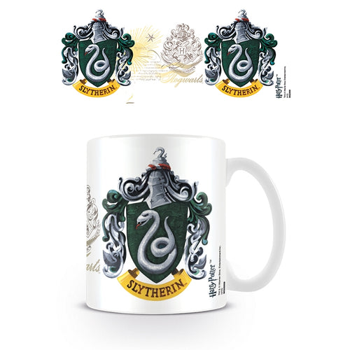 Boxed Mug Slytherin Crest-The Curious Emporium