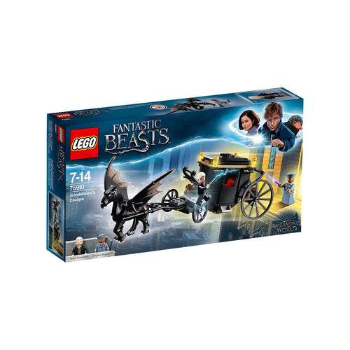 LEGO 75951 Fantastic Beasts Grindelwald's Escape-The Curious Emporium