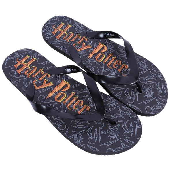 Harry Potter Mens Flip Flops-The Curious Emporium