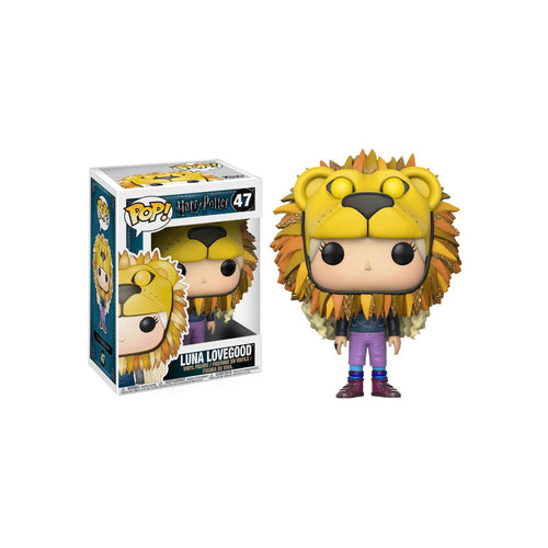 POP! Vinyl Figure Luna Lovegood with Lion Head 9cm-The Curious Emporium