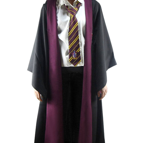 Harry Potter Adult Deluxe Wizard Robe Gryffindor-The Curious Emporium