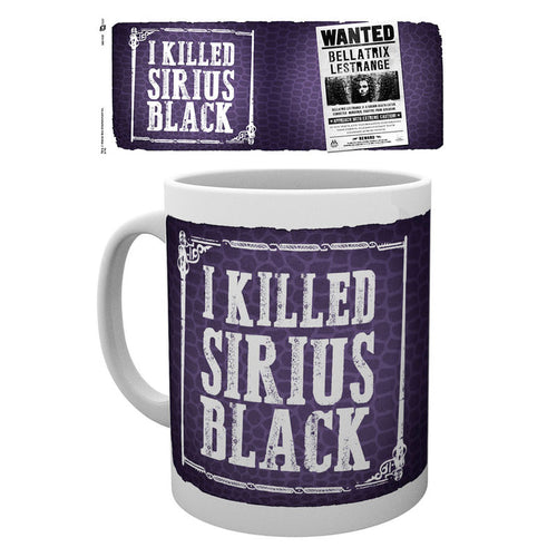 Bellatrix 'I Killed Sirius Black' Mug-The Curious Emporium