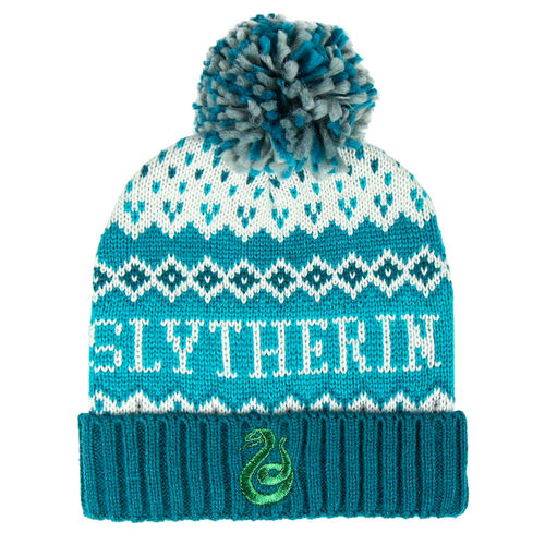 Slytherin Premium Bobble Hat-The Curious Emporium