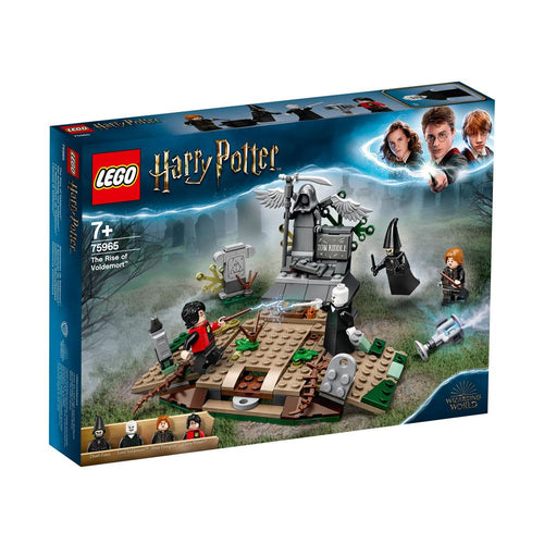 LEGO 75965 Harry Potter The Rise of Voldemort-The Curious Emporium