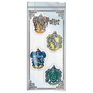 Hogwarts Houses Eraser Set-The Curious Emporium