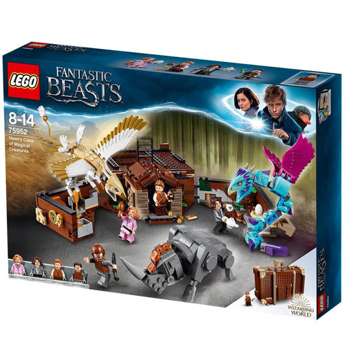 LEGO 75952 Fantastic Beasts Newt's Case of Magical Creatures-The Curious Emporium