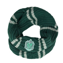 Load image into Gallery viewer, Infinity Scarf Slytherin-The Curious Emporium