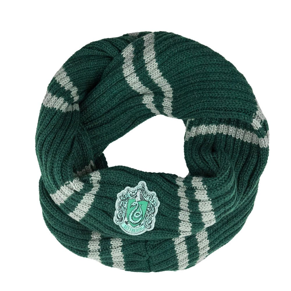 Infinity Scarf Slytherin-The Curious Emporium