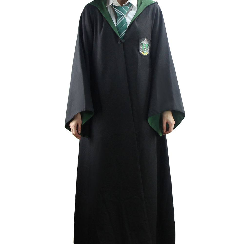 Harry Potter Adult Deluxe Wizard Robe Slytherin-The Curious Emporium