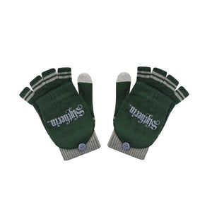 Fingerless Gloves Slytherin-The Curious Emporium