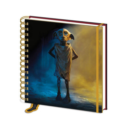 Dobby Has No Master Square Notebook-The Curious Emporium