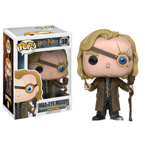 POP! Vinyl Figure Alastor 'Mad-Eye' Moody 9cm-The Curious Emporium