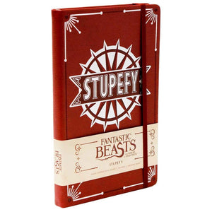 Fantastic Beasts Hardcover Ruled Journal Stupefy-The Curious Emporium