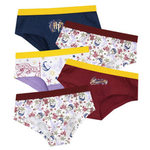 Load image into Gallery viewer, Girls Harry Potter Underwear Knickers - Pack of 5 Pants-The Curious Emporium
