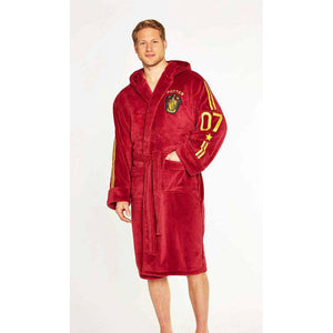Harry Potter Fleece Bathrobe Quidditch-The Curious Emporium