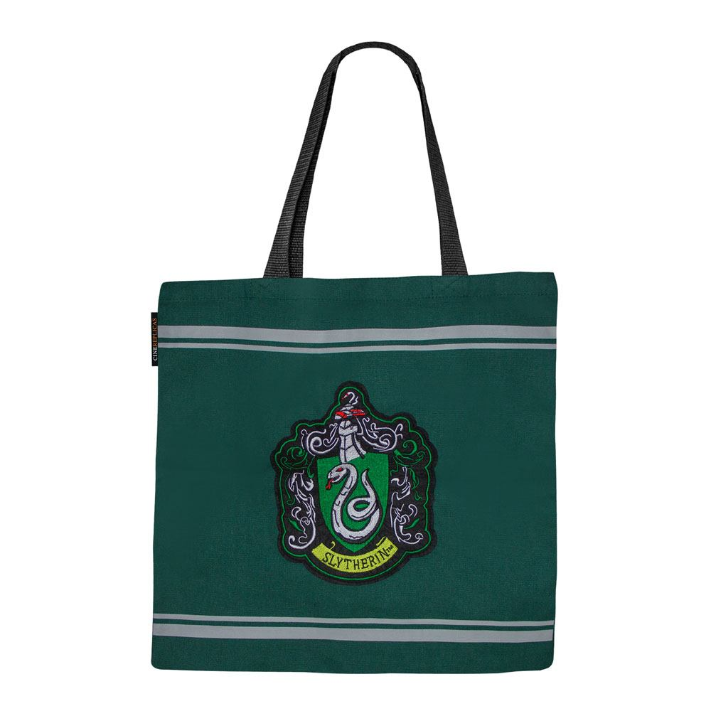 Slytherin House Tote Bag-The Curious Emporium