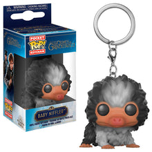Load image into Gallery viewer, Pocket Pop! Vinyl Keychain Baby Niffler (Black/White)-The Curious Emporium