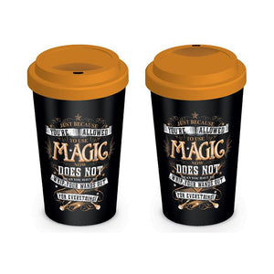 Allowed Magic Travel Mug-The Curious Emporium