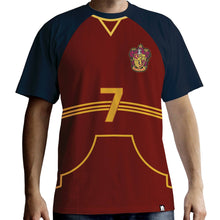 Load image into Gallery viewer, Men's Gryffindor Quidditch Jersey T-Shirt-The Curious Emporium