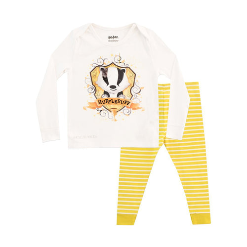 Hufflepuff Kids Pyjamas - Snuggle Fit-The Curious Emporium