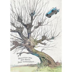 3D Pop-Up Greeting Card Whomping Willow-The Curious Emporium