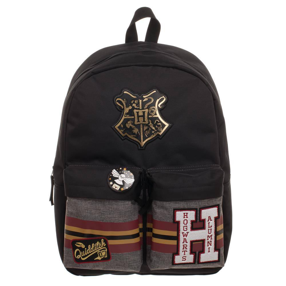 Hogwarts Patches Backpack-The Curious Emporium