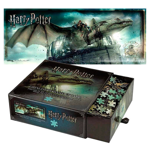 Noble Collection Gringotts Bank Escape 1000pc Jigsaw Puzzle-The Curious Emporium